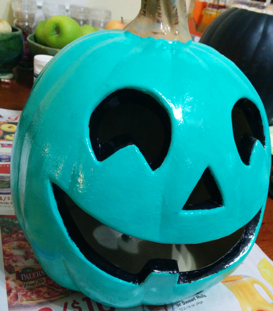 Teal pumpkin | When Peanuts Attack