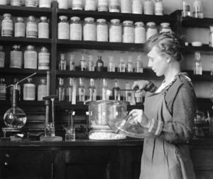 U.S. government chemist Margaret Foster