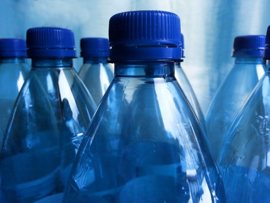 Teal Pumpkin treats: water bottles
