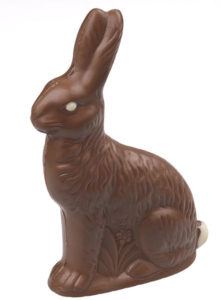 Chocolate Easter Bunny | When Peanuts Attack
